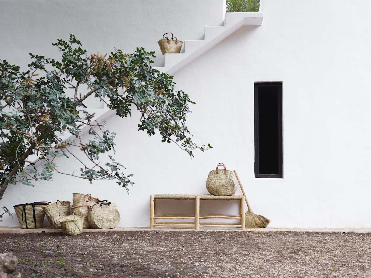 Shot on location in Ibiza at Hotel La Granja, the new Tine K collection is all about bringing the outdoors in, combining the simple paired back Scandinavian spirit with the carefree, relaxed bohemian style of the new collection.