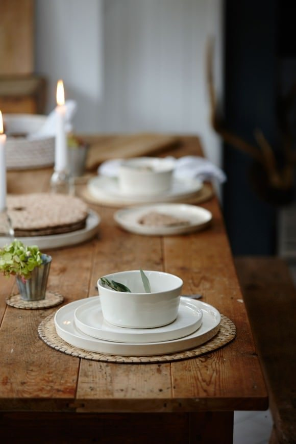 This white dining plate is just one of the many items from Also Home, my new online store crush...