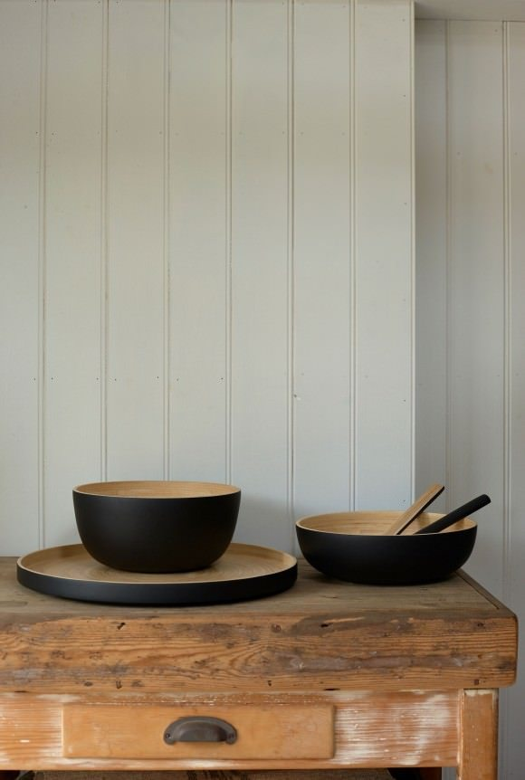This bamboo bowl is just one of the many items from Also Home, my new online store crush...