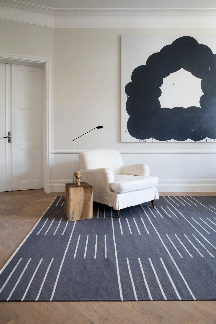Rugs add texture and warmth to any interior but the choice can overwhelming! I chose Nordic Knots, makers of quality hand woven Scandinavian rugs...