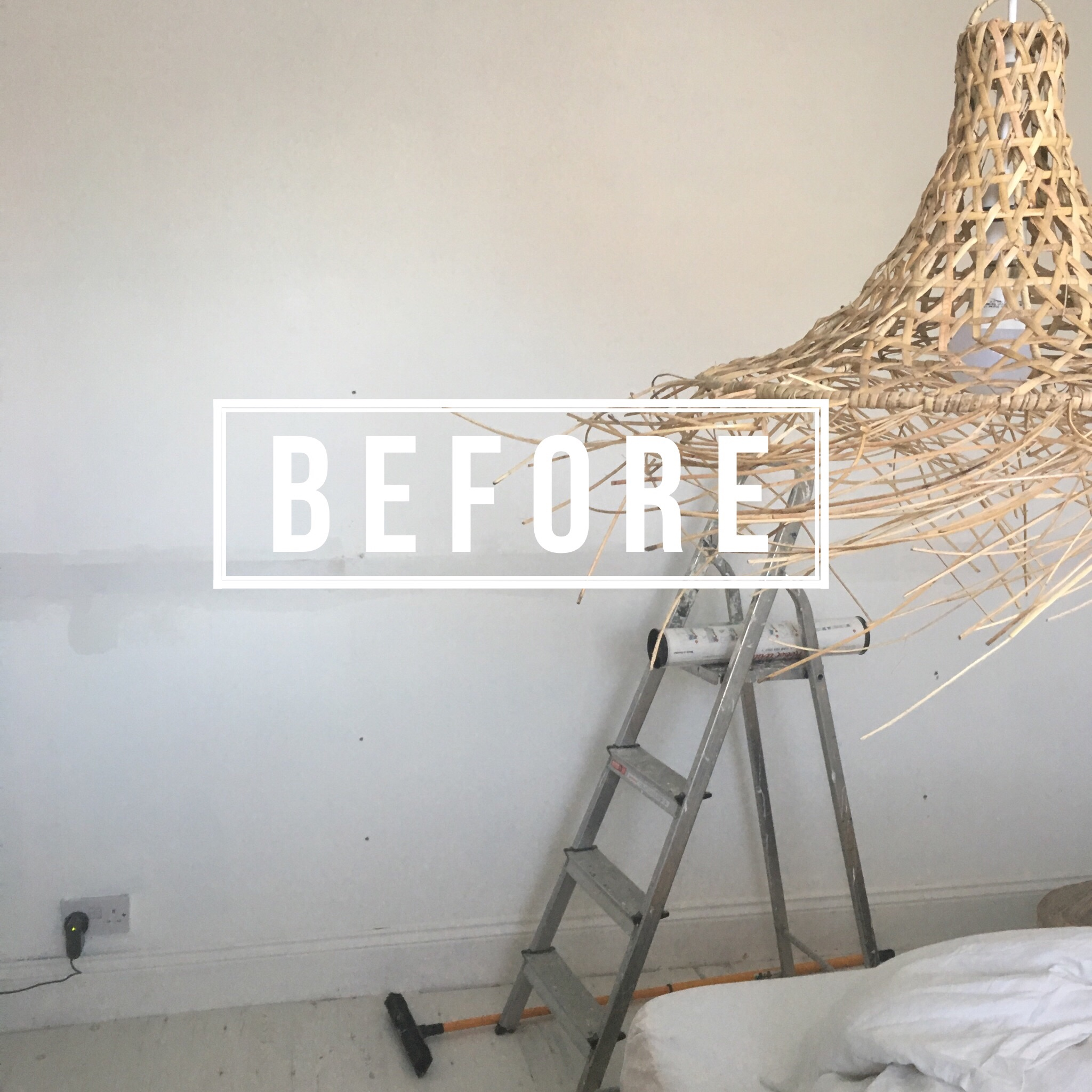 Let me show you how I transformed my bedroom in less than two hours with my new mural from Rebel Walls. Big impact in no time at all!