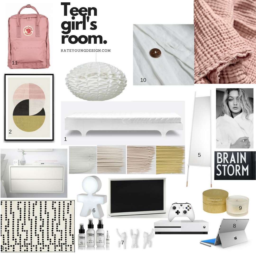 Planning a teen bedroom can be a daunting task, finding good design that appeals to a teenager can be an impossible task. Here I am taking you step by step through the revamp of my teen daughter...