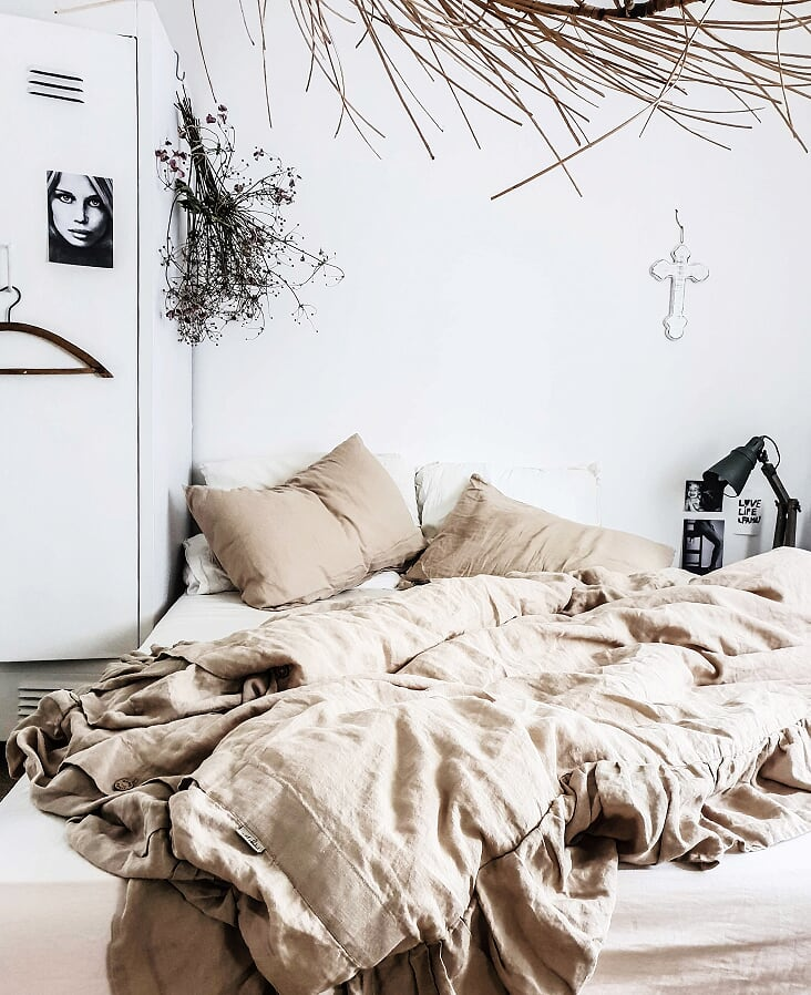 Nothing feels and is as good as linen bedding. I came across Magiclinen a few months ago now and I was immediately smitten with the quality.