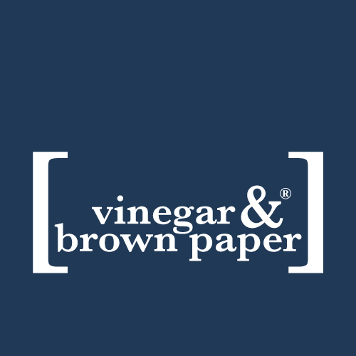 [vinegar & brown paper]