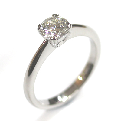 Platinum Solitaire Diamond Engagement Ring 1.jpg