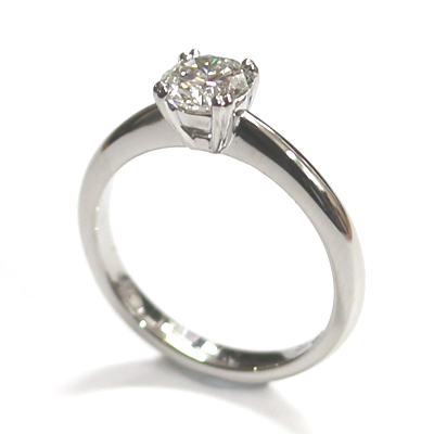 Platinum Solitaire Diamond Engagement Ring 2.jpg