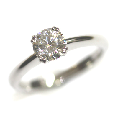 Platinum Solitaire Diamond Engagement Ring 4.jpg