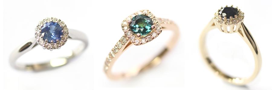 Coloured Halo Engagement Rings.jpg