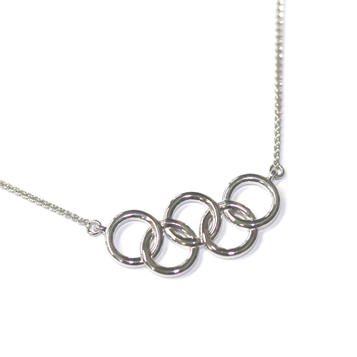 Bespoke Olympic Rings Pendant 1, Form Bespoke Jewellers, Leeds, Yorkshire.jpg