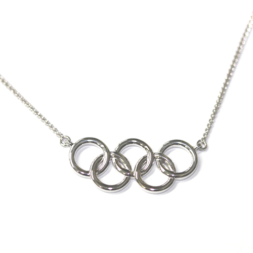 Bespoke Olympic Rings Pendant 2, Form Bespoke Jewellers, Leeds, Yorkshire.jpg