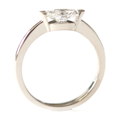 18ct White Gold Solitaire Marquise Cut Diamond Engagement Ring 6 - Copy.jpg