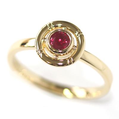 Yellow Gold Ruby Life-Ring Engagement Ring 1.jpg