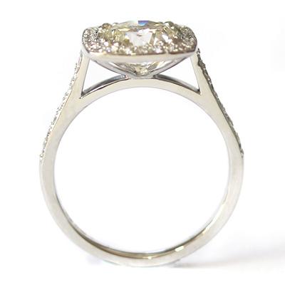 Platinum Tiffany Inspired Diamond Halo Engagement Ring 5.jpg