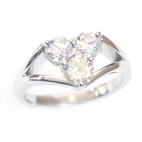 Platinum Triangle Trilogy Diamond Engagement Ring 2a.jpg