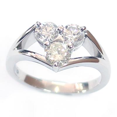 Platinum Triangle Trilogy Diamond Engagement Ring 3.jpg