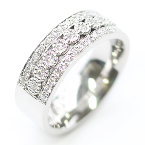 Platinum Wedding Ring with Three Rows of Diamonds.jpg