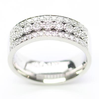 Platinum Wedding Ring with Three Rows of Diamonds 5.jpg