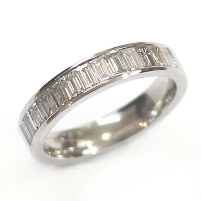 Platinum Baguette Diamonds Wedding Ring 1.jpg