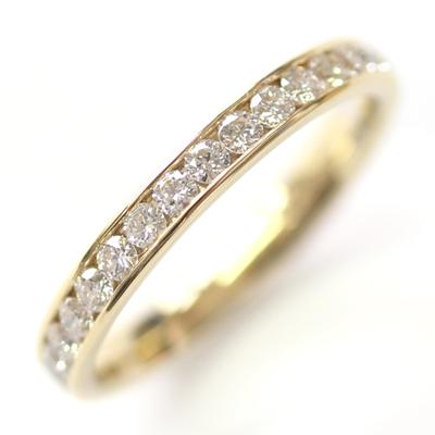18ct Yellow Gold 30 Diamond Set Wedding Ring 1.jpg