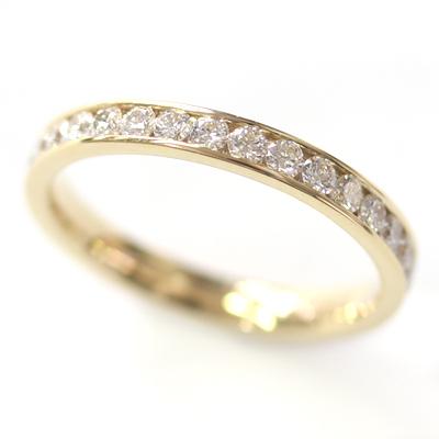 18ct Yellow Gold 30 Diamond Set Wedding Ring 2.jpg