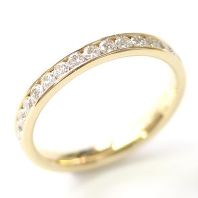 18ct Yellow Gold 30 Diamond Set Wedding Ring 4.jpg