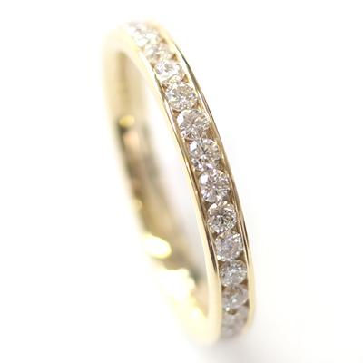 18ct Yellow Gold 30 Diamond Set Wedding Ring 5.jpg