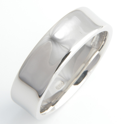 Platinum Gents Concave Wedding Ring 3.jpg