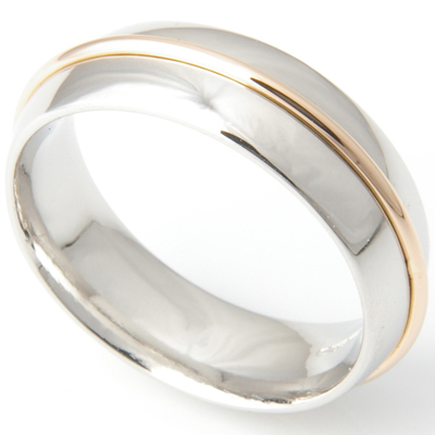Gents 18ct Yellow and White Gold Wedding Ring 3.jpg