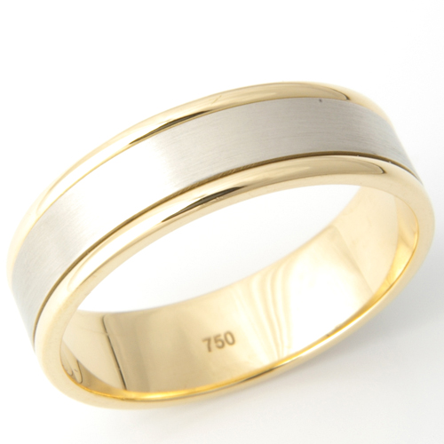 Gents Two Colour Gold Wedding Ring.jpg