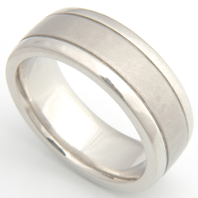 18ct White Gold Concave Satin Finish Wedding Ring.jpg