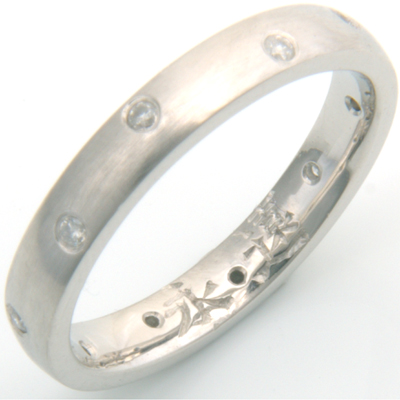 Palladium Engraved Chinese Symbol Wedding Ring 3.jpg