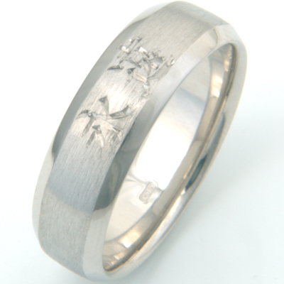 Palladium Engraved Chinese Symbol Wedding Ring 2.jpg
