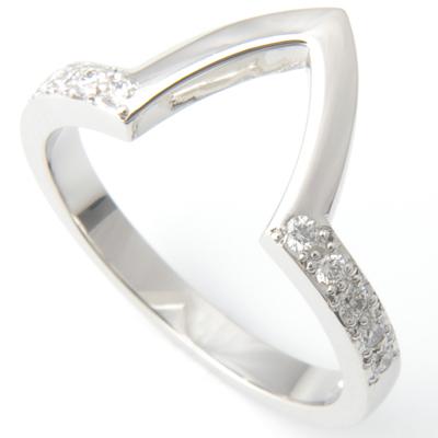 Platinum Diamond Set Fitted Wedding Ring to Pave Engagement Ring 3.jpg