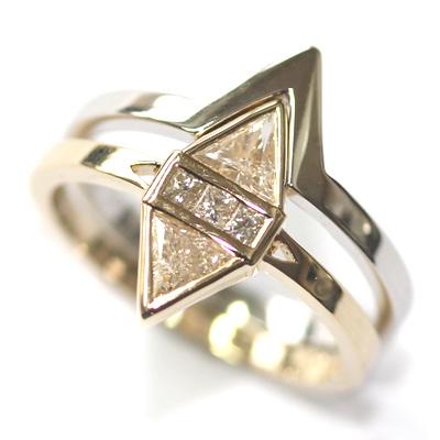 14ct White Gold Plain Fitted Wedding Ring 3.jpg