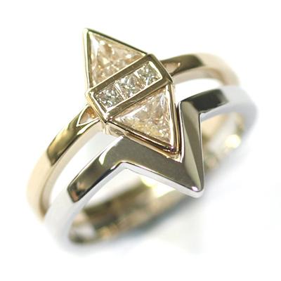14ct White Gold Plain Fitted Wedding Ring 1.jpg