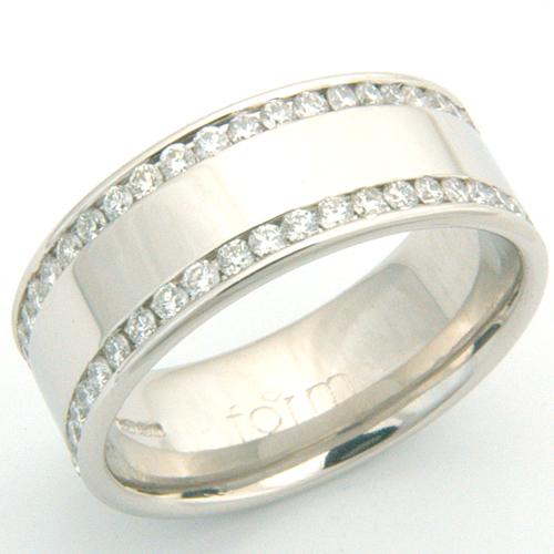 Gents Double Row Channel Set Diamond Wedding Ring.jpg