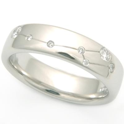 Platinum Diamond Set Constellation Ring 1.jpg