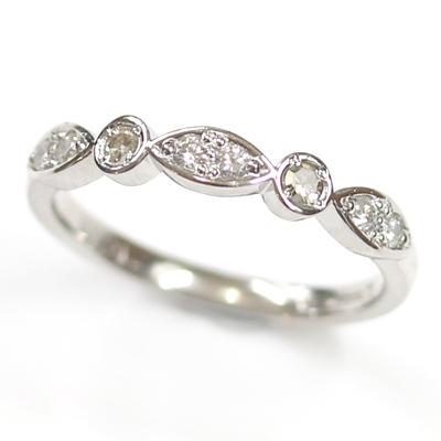 Platinum 8 Diamond Scalloped Eternity Ring 1.jpg