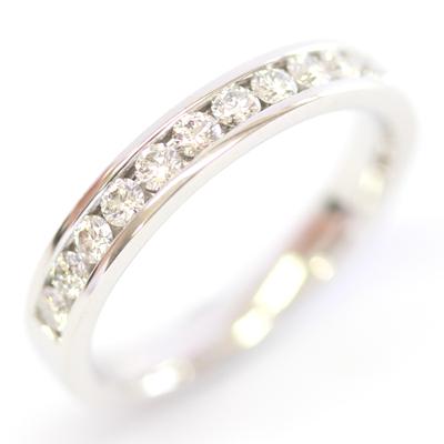 18ct White Gold Channel Set Diamond Eternity Ring 1.jpg
