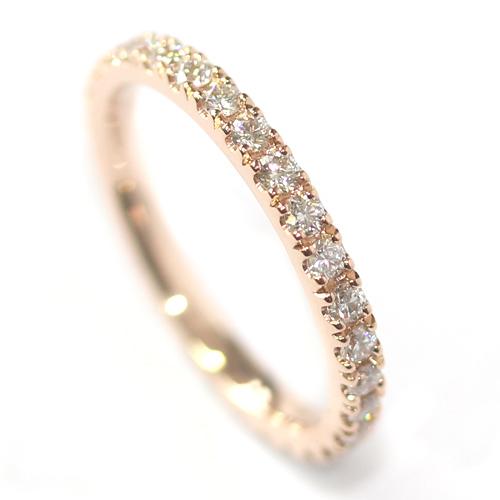 Rose Gold Fully Diamond Set Eternity Ring.jpg