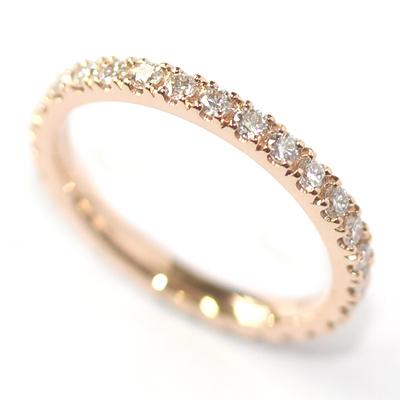Rose Gold Fully Diamond Set Eternity Ring 3.jpg