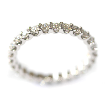 18ct White Gold Diamond Scalloped Eternity Ring 3.jpg