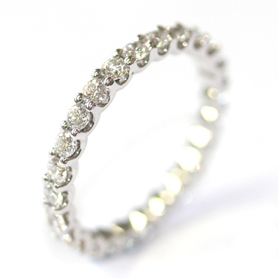 18ct White Gold Diamond Scalloped Eternity Ring 1.jpg