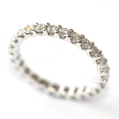 18ct White Gold Diamond Scalloped Eternity Ring 4.jpg
