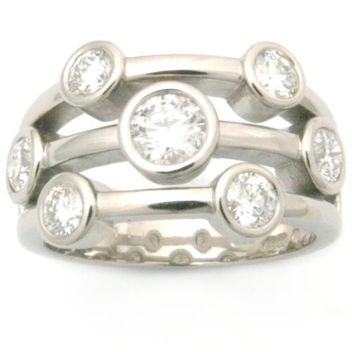 Palladium Multi Strand Diamond Eternity Dress Ring leeds - Copy.jpg