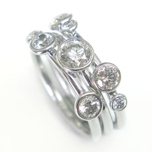 18ct White Gold Diamond Stacking Ring 3.jpg