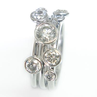 18ct White Gold Diamond Stacking Ring 2.jpg