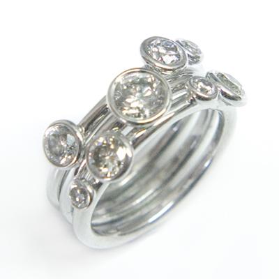18ct White Gold Diamond Stacking Ring 1.jpg