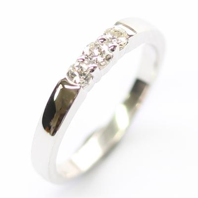 18ct White Gold Diamond Trilogy Dress Ring 5.jpg