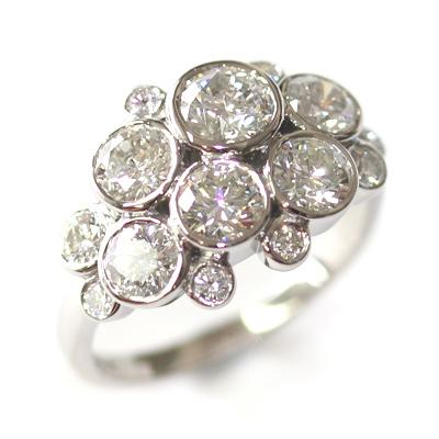 Palladium Multi Diamond Dress Ring 1.jpg